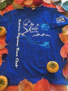 T-shirt Fede fans club blu front