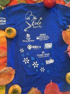 T-shirt Fede fans club blu rear